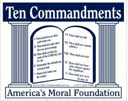 10 Commandments  - Stickers for Children.