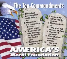 Ten Commandments refrigerator magnets