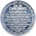 The Commandments coins