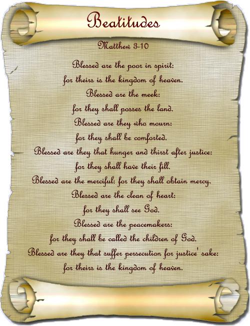 The Beatitudes of Jesus
